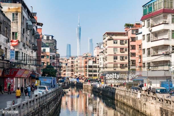 dai tang village, guangzhou - guangzhou stock pictures, royalty-free photos & images