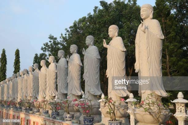 Dai Tong Lam Tu Buddhist Temple Buddha Amitabha statues Ba Ria Vietnam