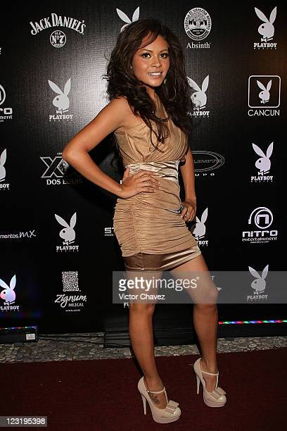 Daiana Guzman attends the Playboy Mexico magazine party at Lomas de Chapultepec on August 27 2011 in Mexico City Mexico