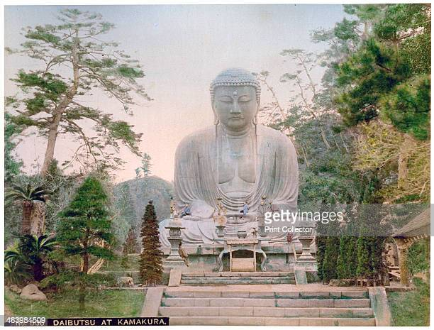 Daibutsu at Kamakura Japan early 20th century This great bronze statue of Buddha which is 135 metres high and weighs 93 tons is believed to date from...