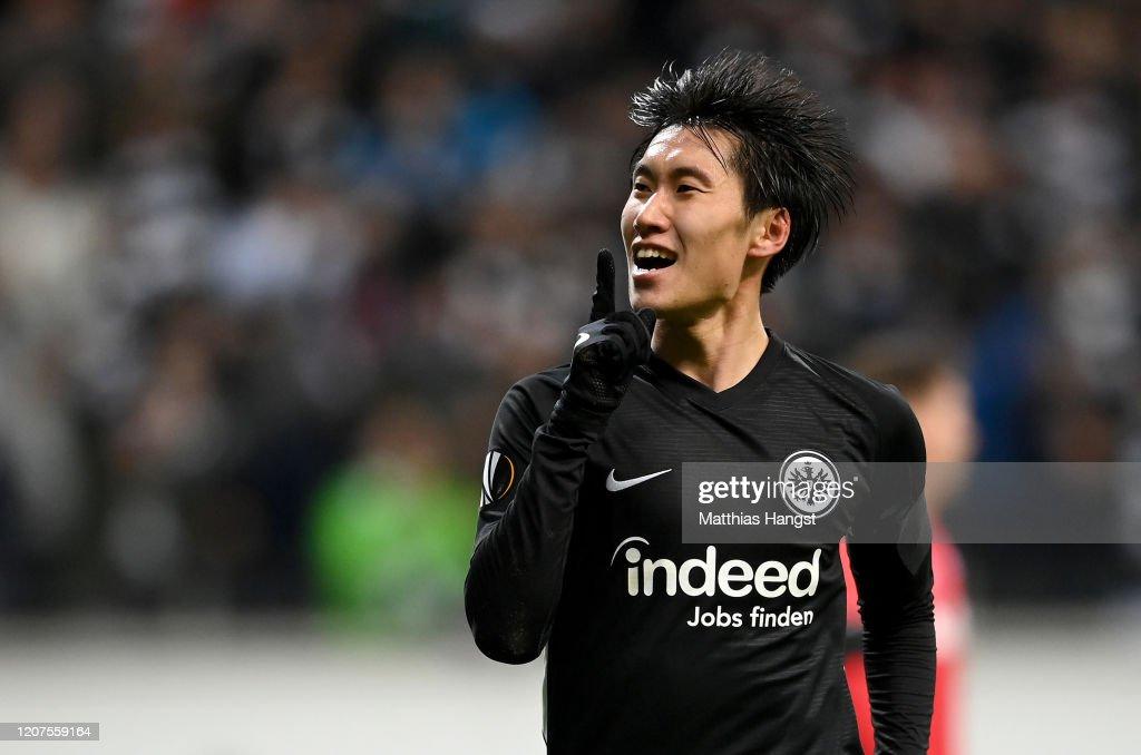 Eintracht Frankfurt v RB Salzburg - UEFA Europa League Round of 32: First Leg : ニュース写真