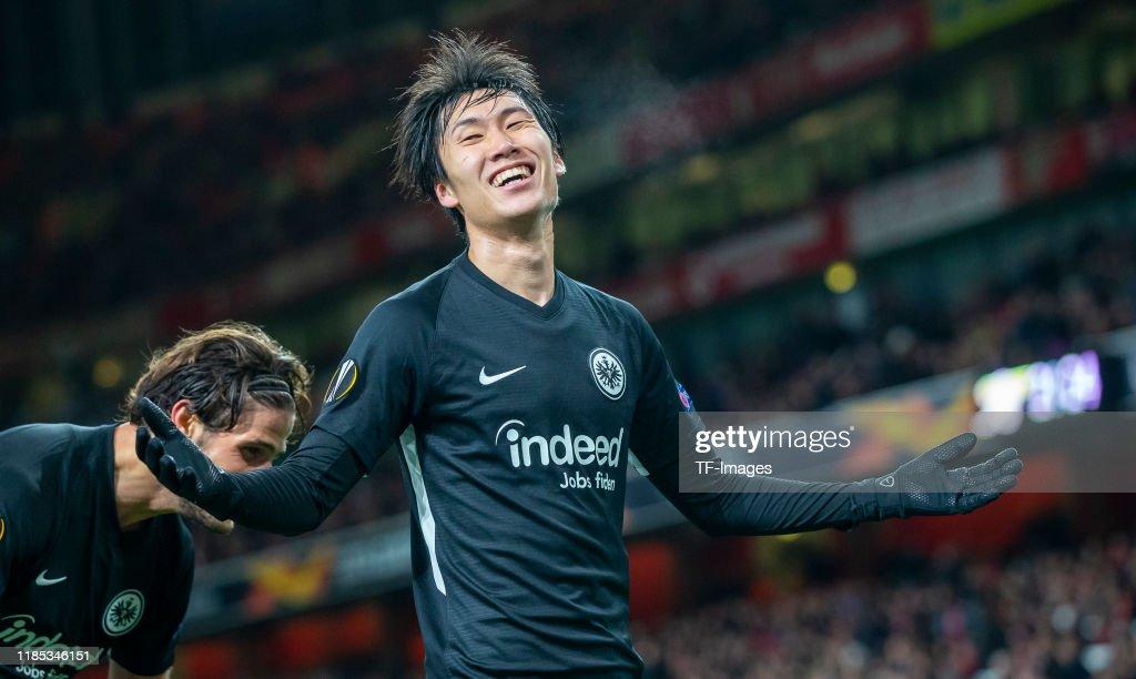 Arsenal FC v Eintracht Frankfurt: Group F - UEFA Europa League : ニュース写真