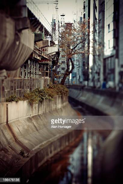 Daikanyama waterway, Tokyo, Japan