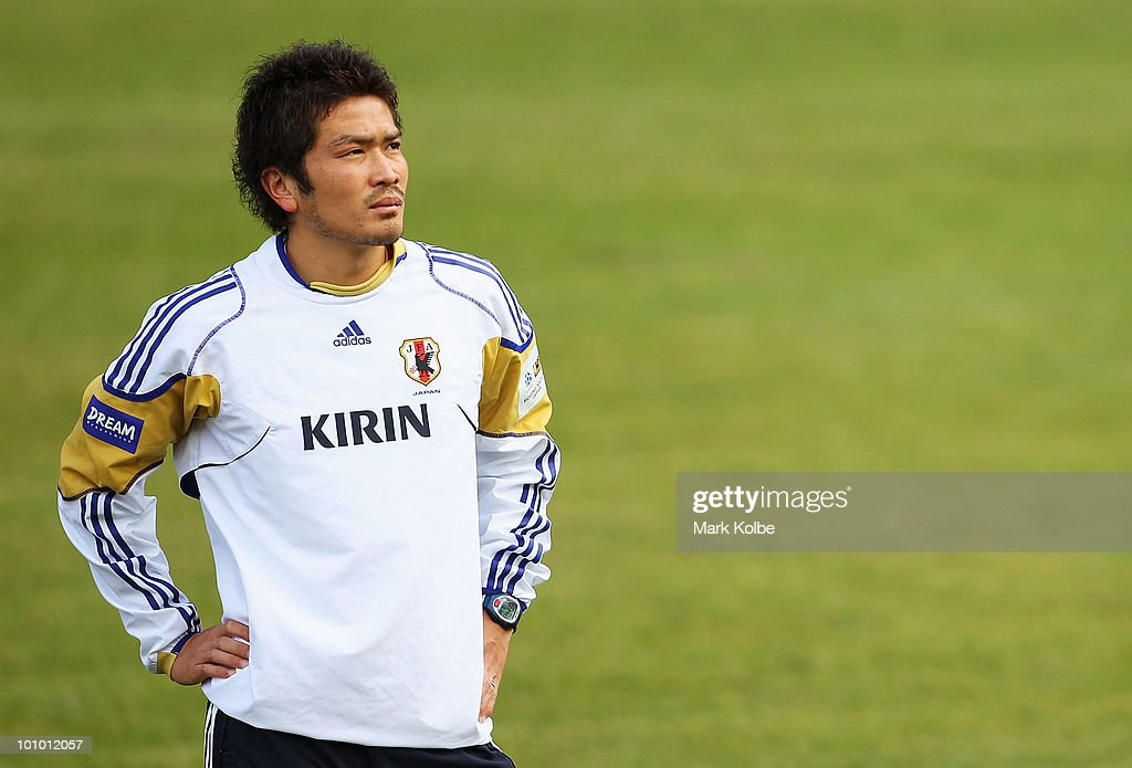 Japan Training - 2010 FIFA World Cup : ニュース写真