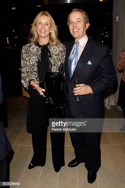 Dailey Pattee and Gordon Pattee attend Dazzling Dinners And Preview Event for the New Alice Tully Hall A Prelude To LINCOLN CENTER'S 50th Anniversary...