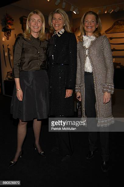 Dailey Pattee Jamee Gregory and Aura Binbell attend The 51st Annual Winter Antiques Show Benefiting the East Side House Settlement at The Seventh...