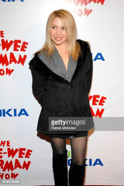 G Daily attends The Pee Wee Herman Show Opening Night at Club Nokia on January 20 2010 in Los Angeles California