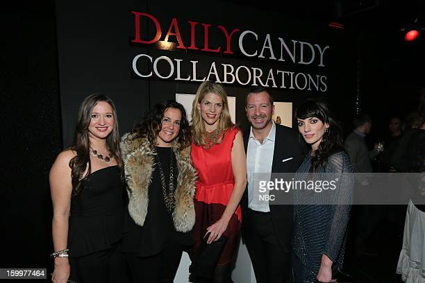 CANDY Daily Candy Collaborations at Le Bain in New York City on Wednesday January 23 2013 Pictured Ashley Parrish Editor in Chief DailyCandy Melissa...