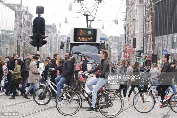 daily life amsterdam - netherlands stock pictures, royalty-free photos & images