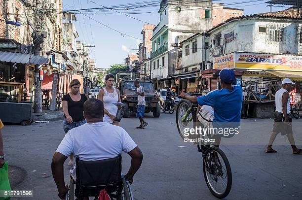 Daily life and Army occupation of Complexo da Maré, a deprived slum area near the Rio de Janeiro International Airport, part of the Government policy...