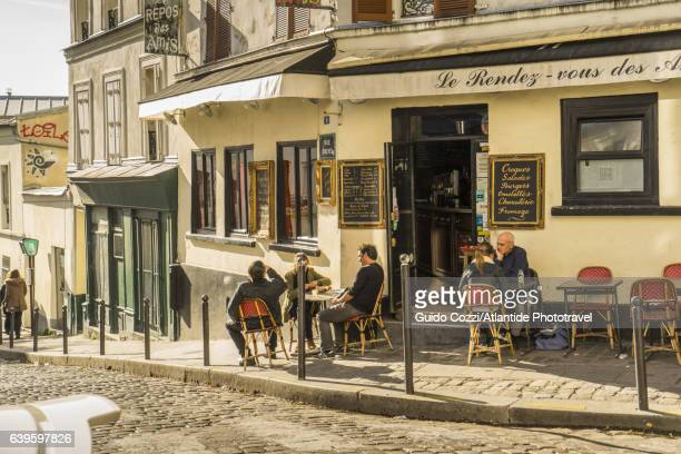 Daily life at Montmartre