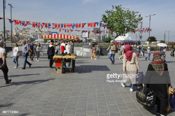 Daily Life - Eminomu District of Istanbul,Turkey