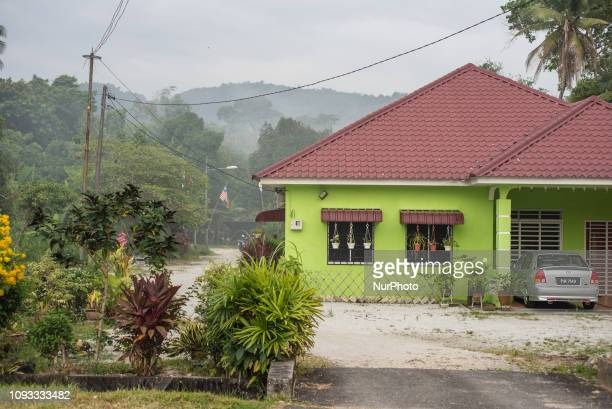 Daily life in Balik Pulau area Southwest Penang Island District Penang Island Malaysia in January 2019