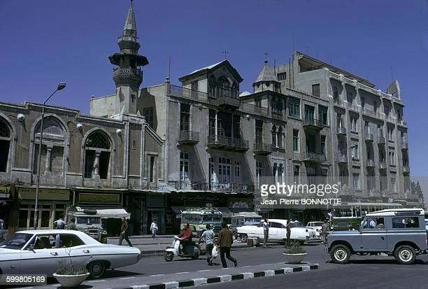 Daily life in Damascus Syria In July 1973
