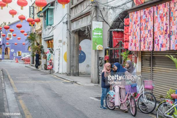 Daily Life in George Town Penang Island Malaysia in January 2019 George Town is the capital of the Malaysian state of Penang and Malaysia's second...