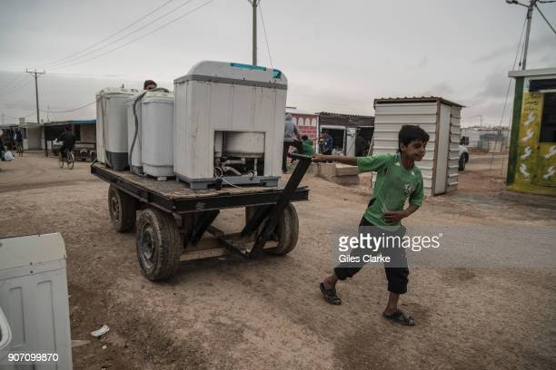 03/26/16 Daily life in the Zaatari Syrian Refugee Camp The camp was set up in June 2012 in response to the ongoing Syrian war Some 80000 Syrians now...