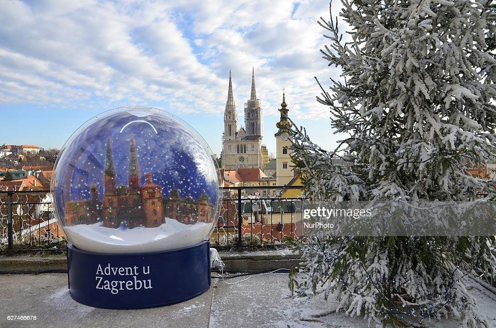 Advent in Zagreb : Fotografía de noticias