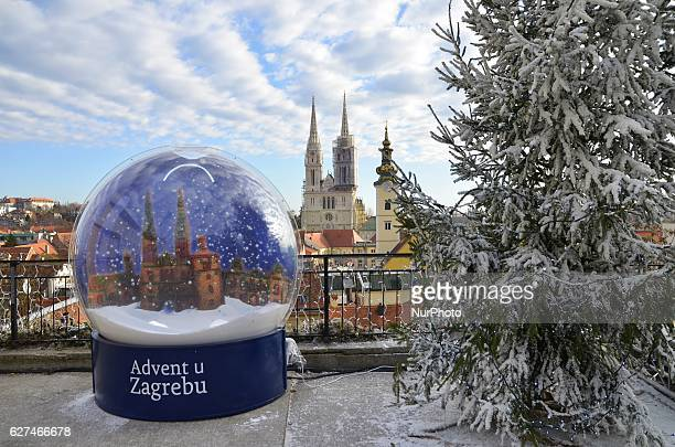 Daily life in ZagrebCroatia on 3 Dec 2016 during Advent Time and Christmas market in capital of Croatia During the time of Advent Zagreb offers a...