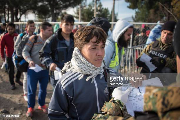 """Daily life inside a refugee camp in Idomeni, Greece. After Macedonia closed its border to informal migration, the so-called """"Balkan Route""""..."""
