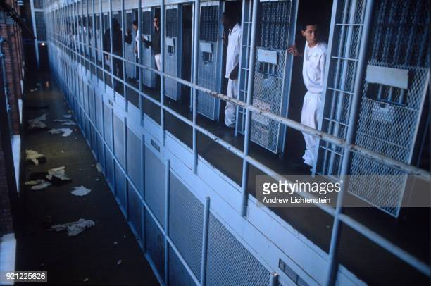 Daily life inside of the historical Eastham Prison run by the Texas Department of Criminal Justice on June 9 1997 outside of Lovelady Texas n