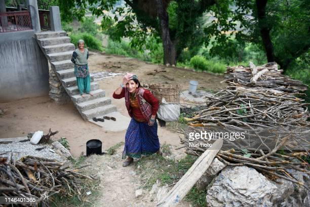 Daily life of a village, Uttarakhand, India, on 12 May 2019.