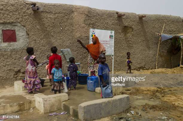 Daily life of local people, at the Castor military camp in Gao, Mali, 19 May 2017. Members of the German armed forces have been deployed to the...