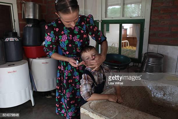 Daily life of Mennonites in Bolivia