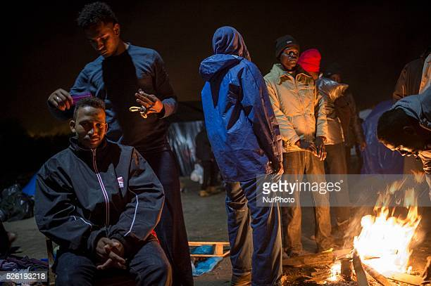 "Daily life of refugees at the so-called ""Jungle"" migrant camp in the northern French city of Calais on November 6, 2015. Winter is coming..."
