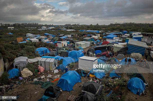 Daily life of refugees in the quotJunglequot migrants camp in the northern French city of Calais on November 4 2015 Winter is coming to Calais...