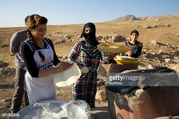 Daily life of Shepherd family in Duhok a small community of Christians in Duhok Kurdistan Iraq on 5 November 2016