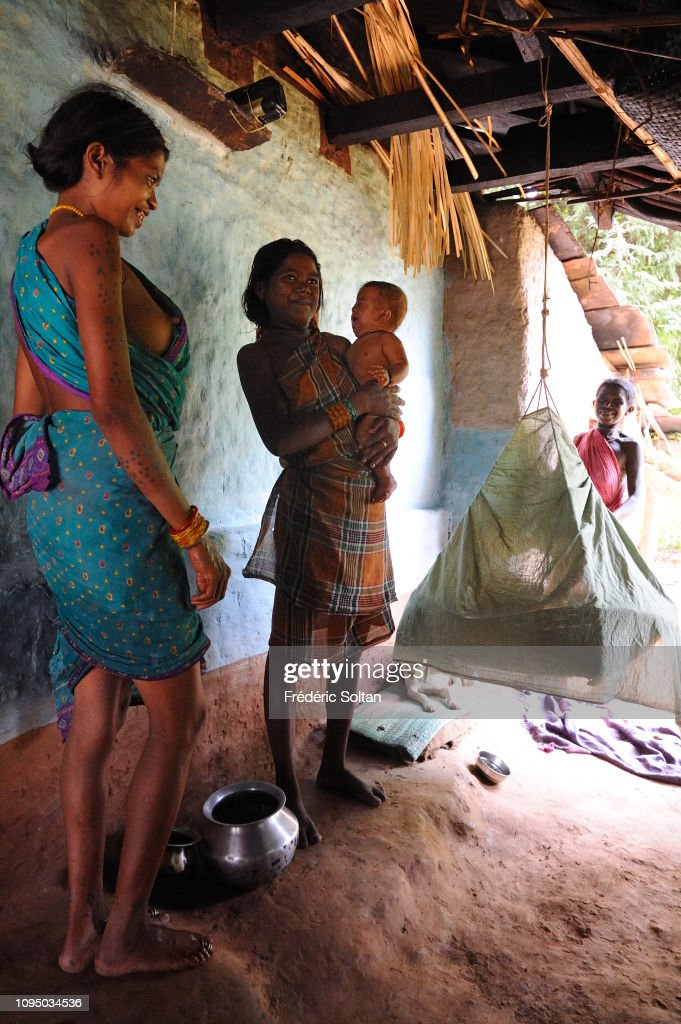 Daily life of tribes in small villages and surrounding