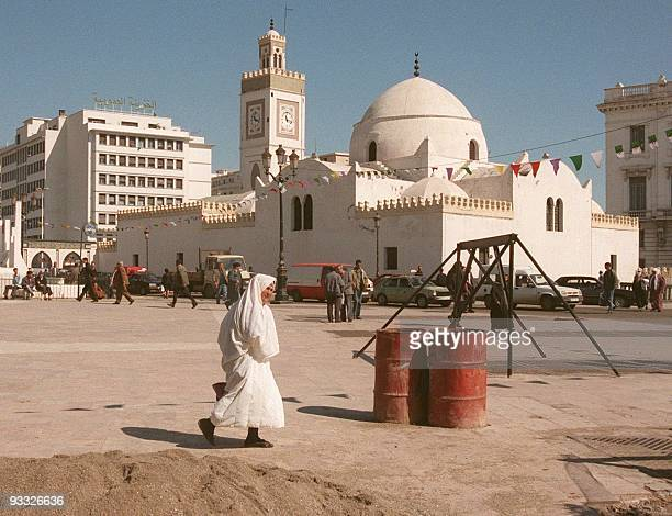 Daily life scene in the Casbah neighborhood of Algiers were things are quiet 09 March 1999 The Casbah was in the past the area of Islamist armed...