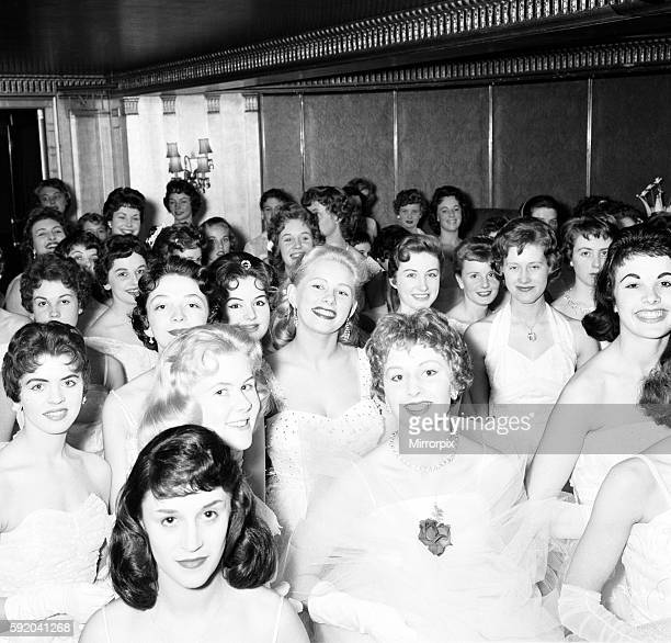 Daily Mirror Debutants Ball 1958 at the Dorchester Hotel in London, 7th May 1958.