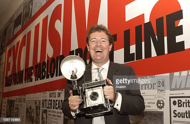 Daily Mirror Editor PIERS MORGAN opened an exhibition at the Science Museum today explaining how technology has revolutionised the way newspapers are...