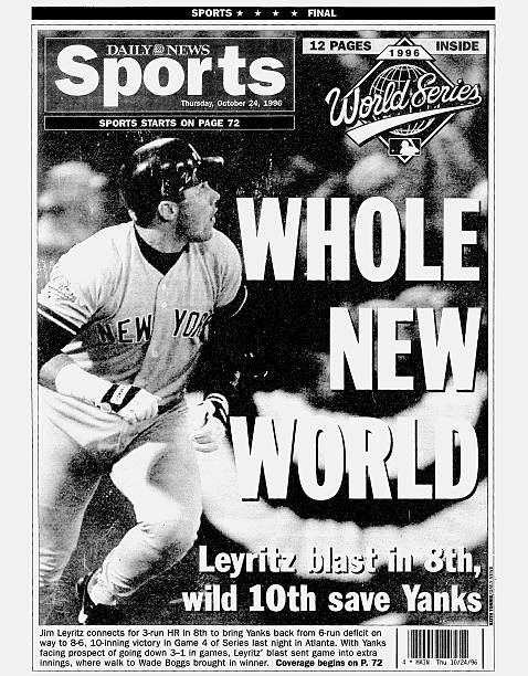 Daily News back page dated Oct. 24, 1996, Headlines: WHOLE N
