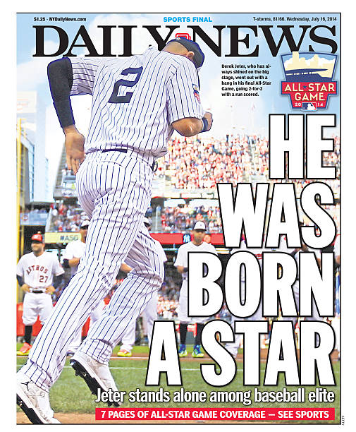 Daily News Back Page Derek Jeter