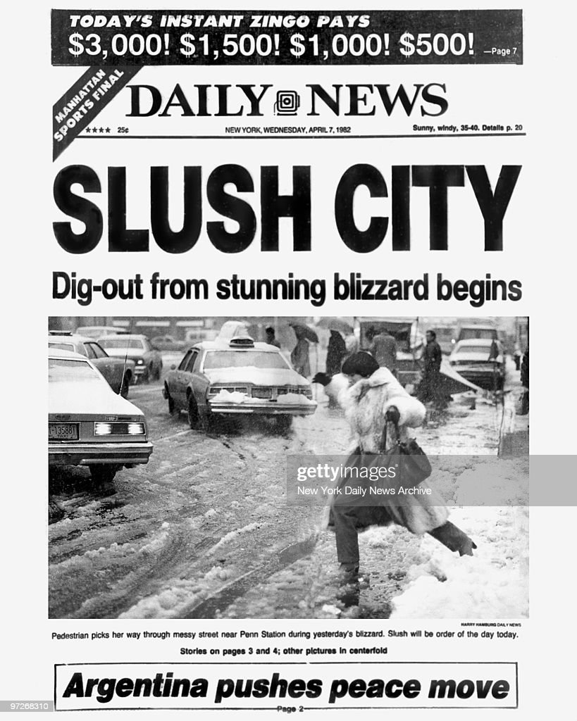 A Look Back At New York Snowstorms And Blizzards Photos