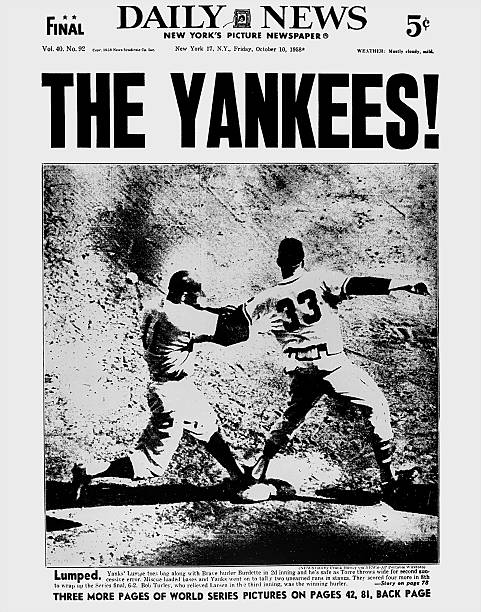 Daily News front page dated Oct. 10, 1958, Headlines: THE YA