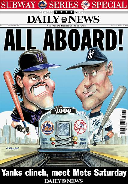 Daily News front page dated Oct. 18, 2000, ALL ABOARD!, Spec