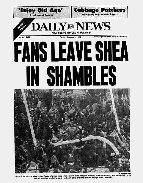 Daily News front page dated December 11, 1983, Headline: FAN