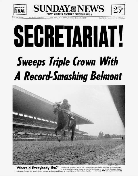 Daily News front page dated June 10, 1973, Headlines: SECRET
