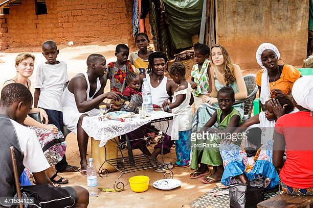 daily scene - senegal stock pictures, royalty-free photos & images