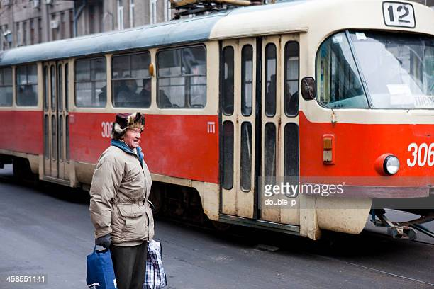 daily transport - kharkov stock photos and pictures