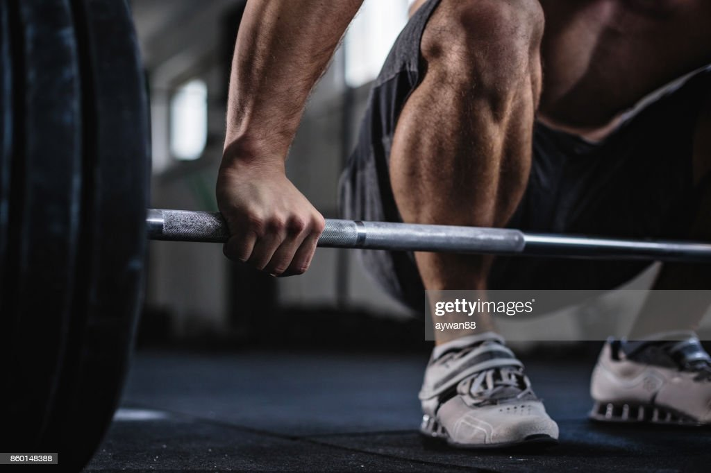 Daily workout : Stock Photo
