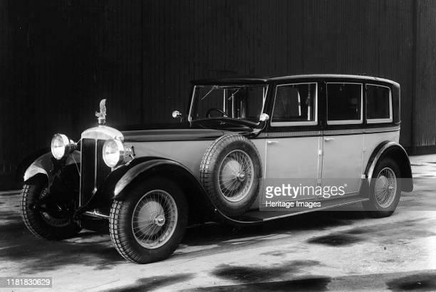 Daimler 25hp with Le Coq Lalique mascot. Creator: Unknown.