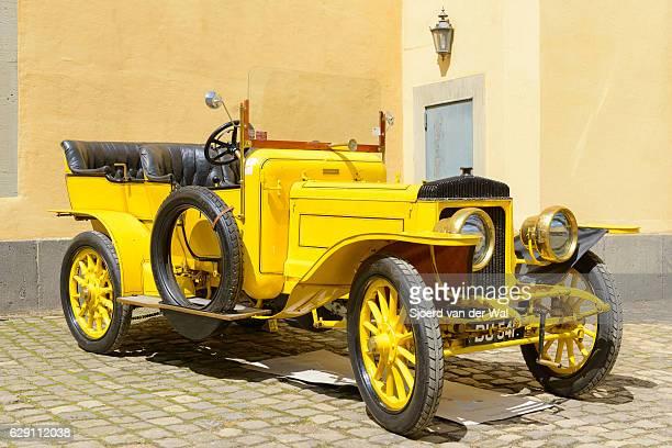 """daimler 45hp vintage 1906 classic vintage car - """"sjoerd van der wal"""" photos et images de collection"""