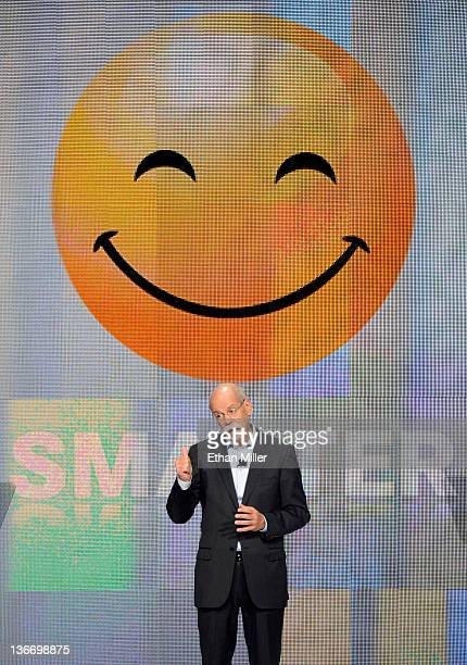 Daimler AG Chairman and head of MercedesBenz Cars Dr Dieter Zetsche speaks during a keynote address at the 2012 International Consumer Electronics...