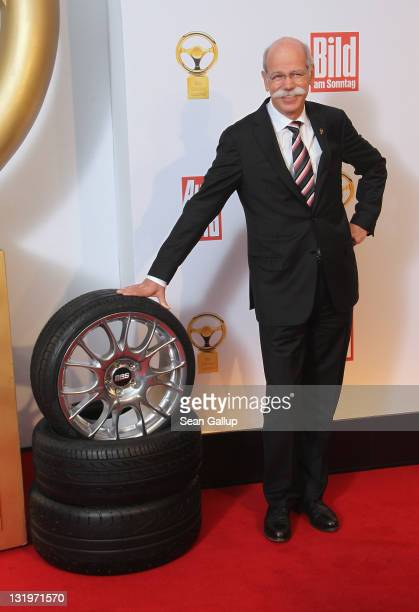 Daimler AG Chairman Dieter Zetsche attends 'Das Goldene Lenkrad 2011' Awards at AxelSpringer Haus on November 9 2011 in Berlin Germany