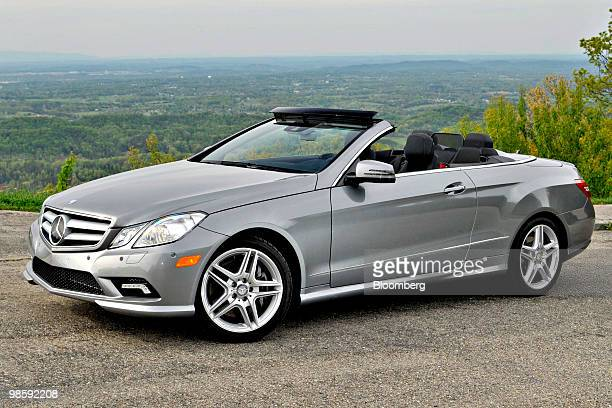 Daimler AG's 2011 MercedesBenz E550 Cabriolet is photographed in Great Smoky Mountains National Park near Knoxville Tennessee US on Tuesday April 20...