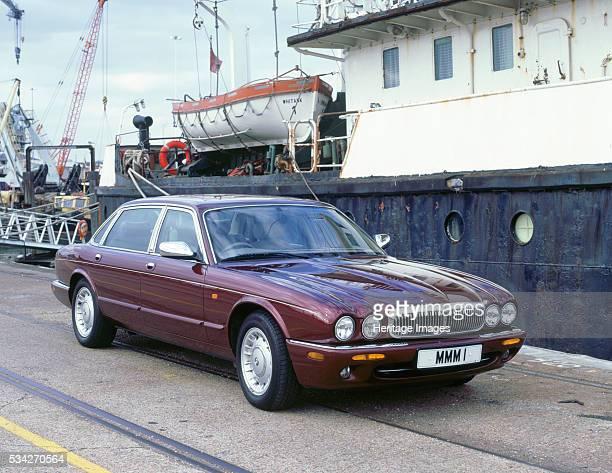 Daimler V8 at Southampton Docks Hampshire 2000